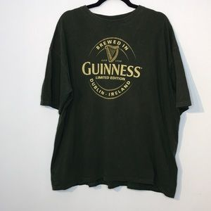 Guinness official merchandise graphic t-shirt